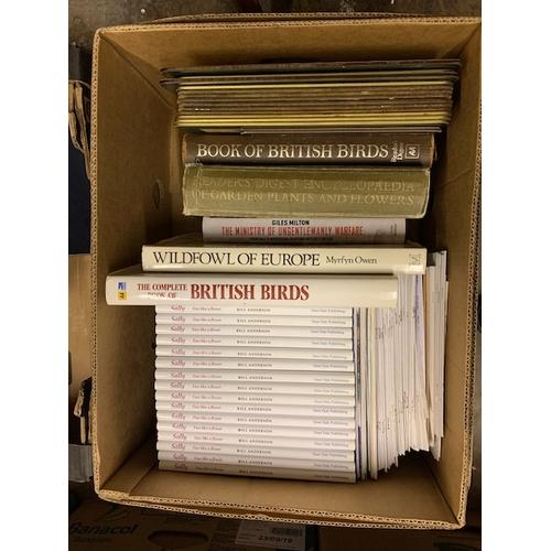 653 - Box of books