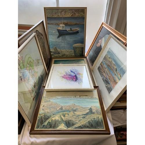 335 - Box of prints