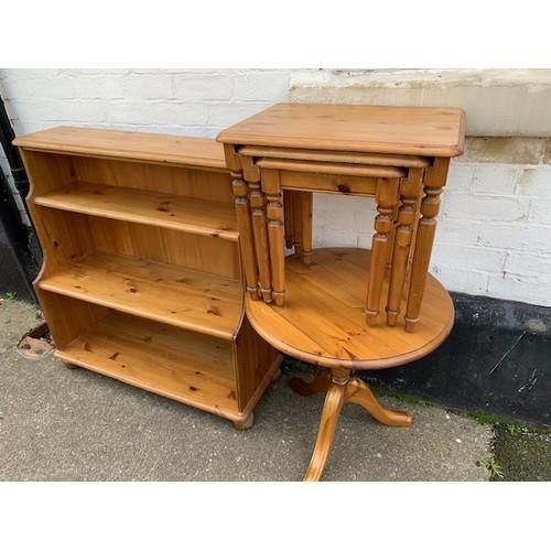 518C - 3 Pieces of matching modern pine furniture:- 37
