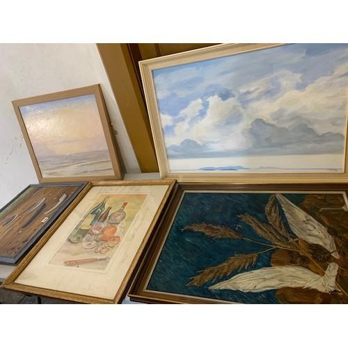 339 - 8 larger paintings, C Potter