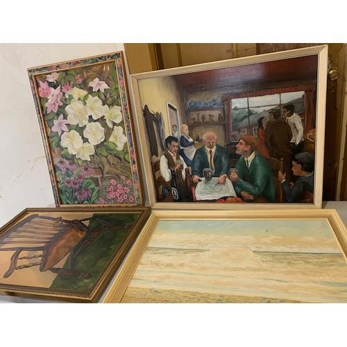 341 - 11 paintings, C Potter