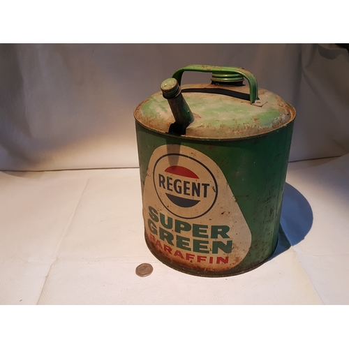 41 - Regent super green paraffin can...
