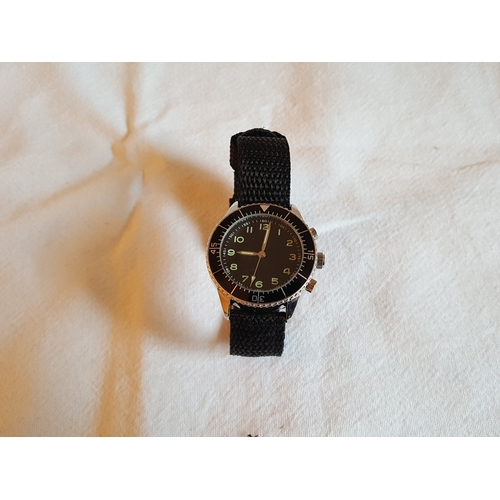 16 - Eagle Moss collection German 1970s military watch...