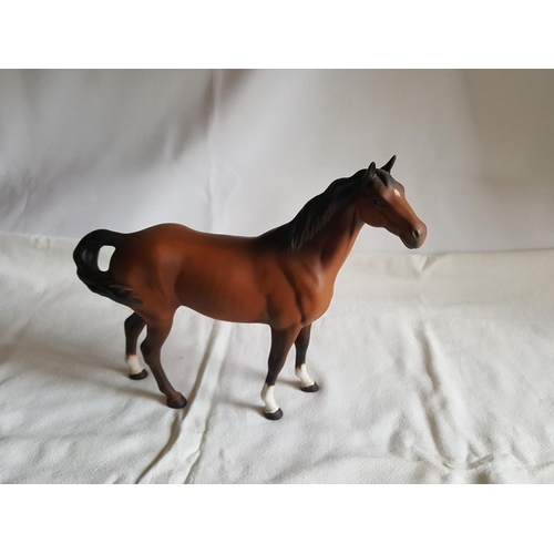 7 - Beswick horse...