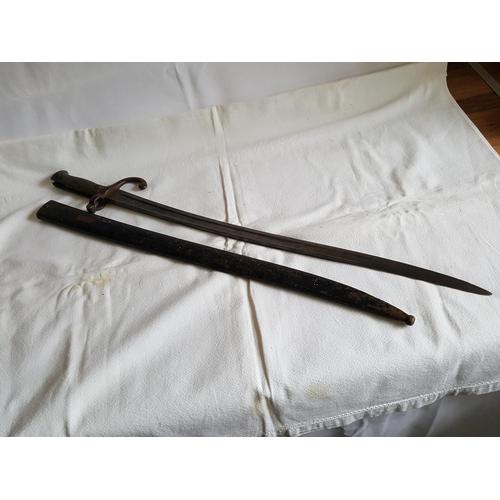 12 - French 19th century bayonet...