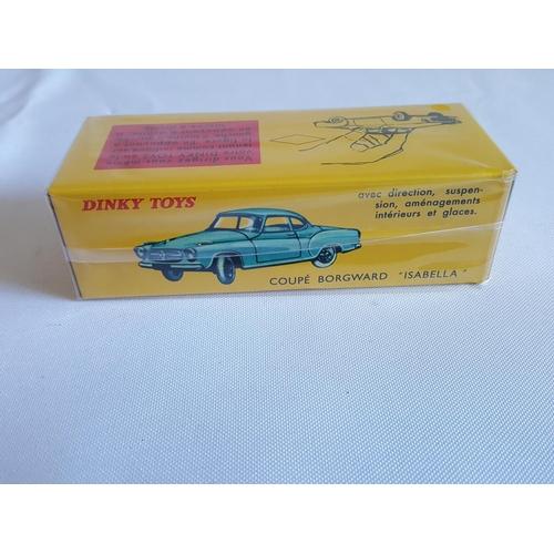 19 - Norev Dinky Coupe Borgward...