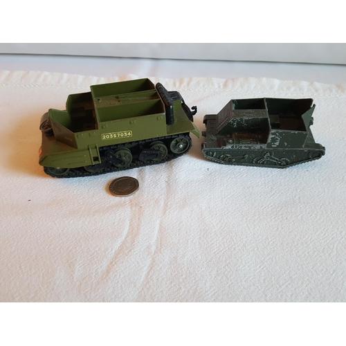 2 - a Dinky & a Lone Star bren gun carriers...