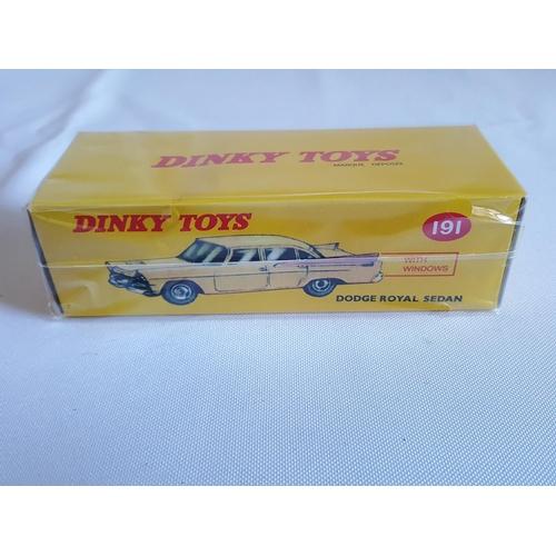 40 - Norev Dinky Dodge Royal Sedan...