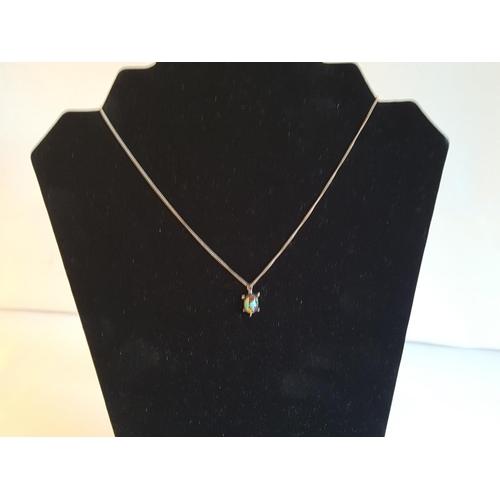 5 - 925 silver necklace...