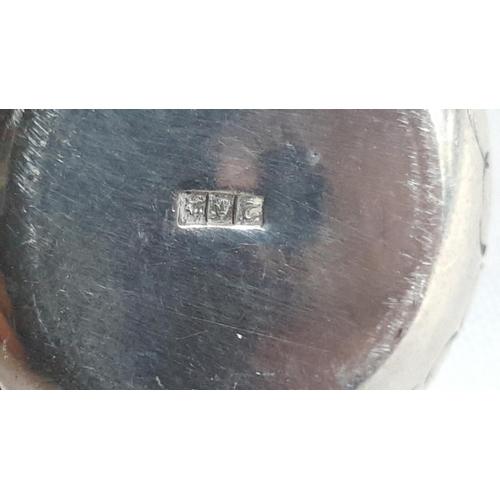 51 - Egyptian HM silver miniature burner c1946...