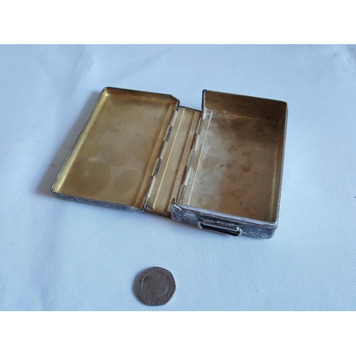 16 - silver plated & gilded tin...
