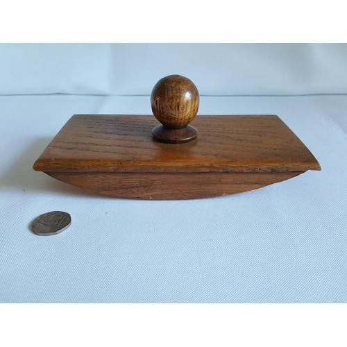 41 - vintage wooden ink blotter...