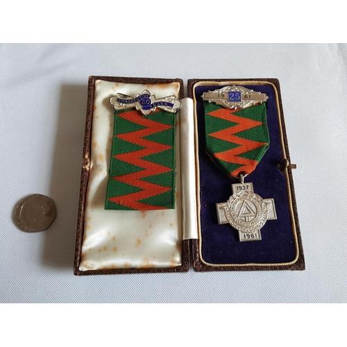 53 - HM silver safe drivers medal...