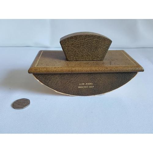 56 - vintage wooden ink blotter...