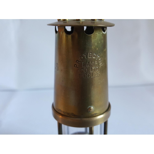 59 - small miners lamp Protector Lamp Co...