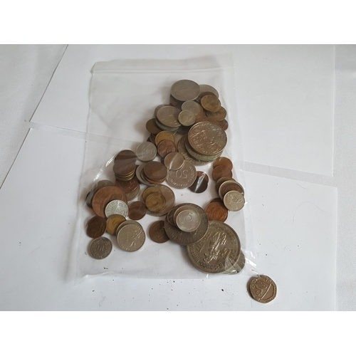 6 - bag of mixed coins...