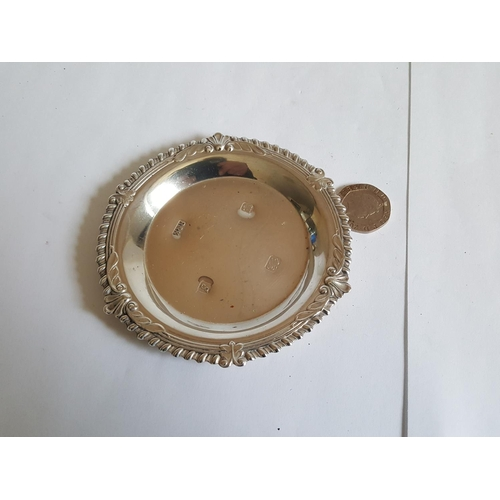 21 - HM silver pin dish...