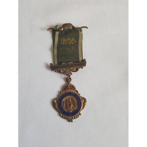 18 - masonic medal c1958...