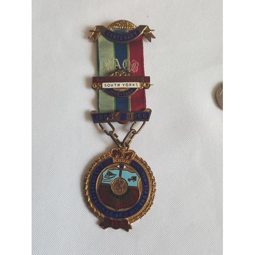 19 - masonic medal c1966...