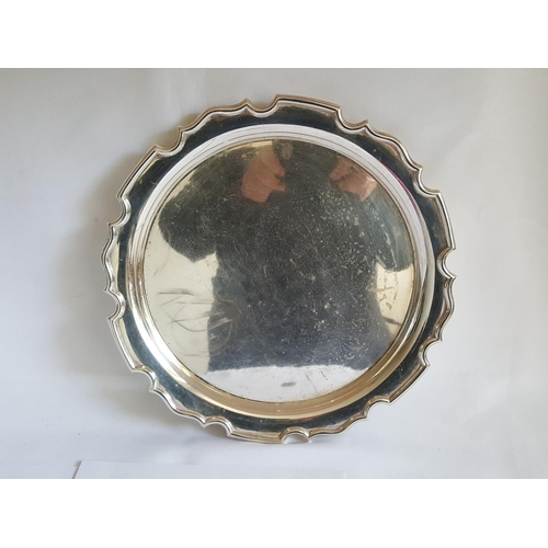 2 - HM silver tray by Cooper Bros c1939...