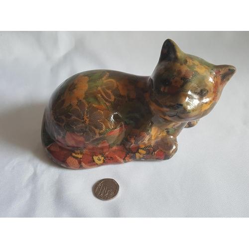 22 - 17cm paper covered cat...