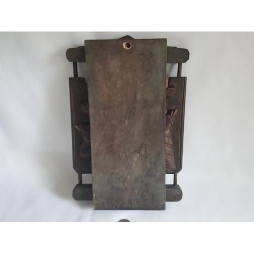 24 - hand carved folding christian item 27cm...