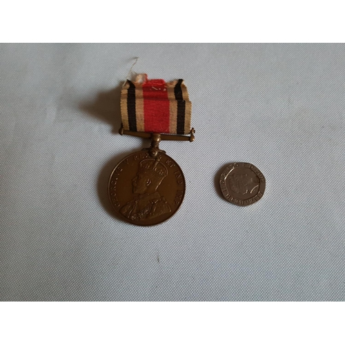 41 - WW1 police medal...