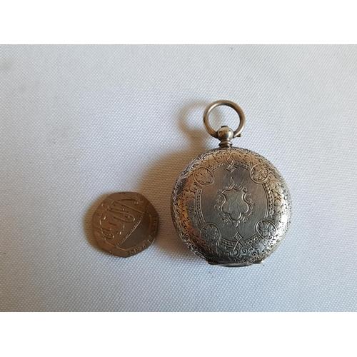 45 - HM silver pocket watch a/f...