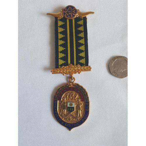 47 - masonic medal c1982...