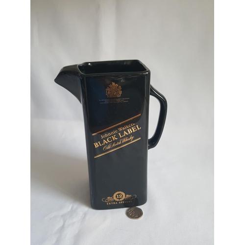 52 - Black Label water jug...