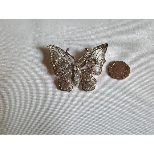 58 - butterfly brooch...