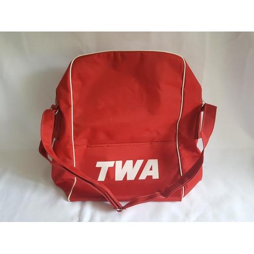 10 - vintage TWA shoulder bag...