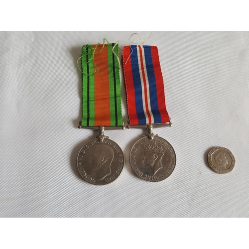 15 - WW2 medals x2...