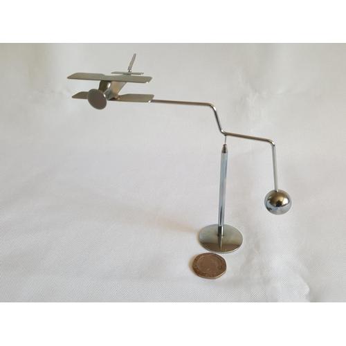 20 - biplane desk toy...