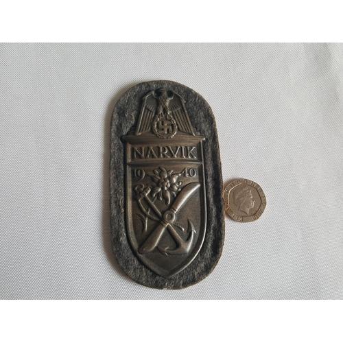 34 - WW2 German Narvik badge...