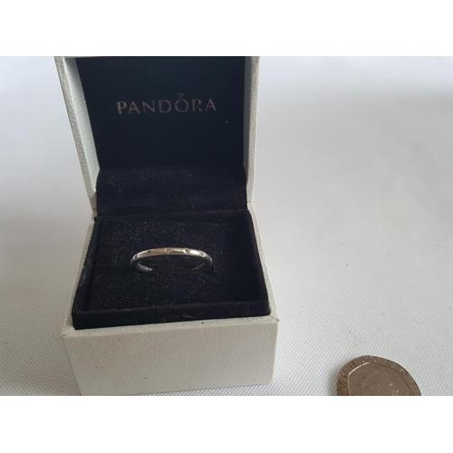 35 - Pandora silver ring...
