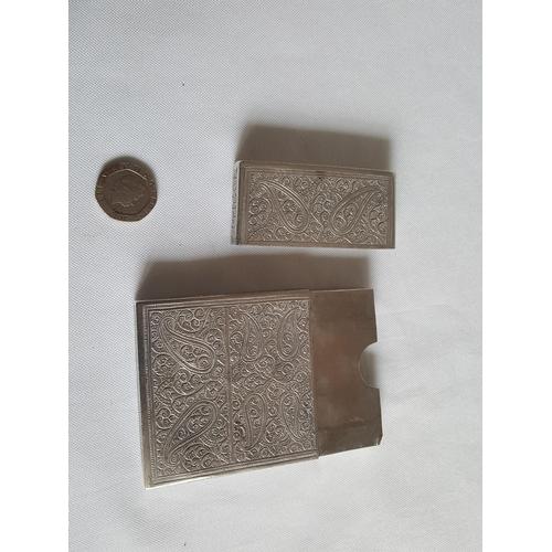 47 - silver card case...