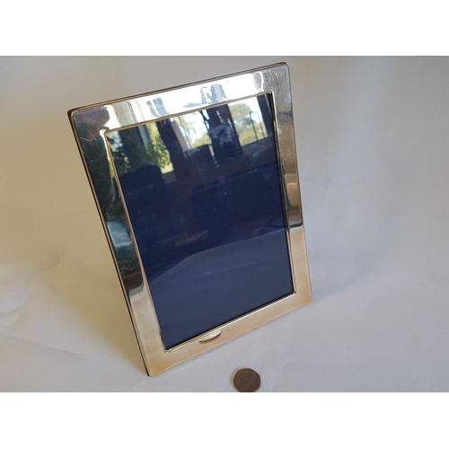 1 - silver plated photo frame