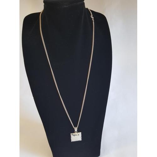 12 - 925 silver chain & pendant
