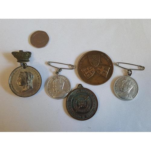 24 - 5 commemorative medals
