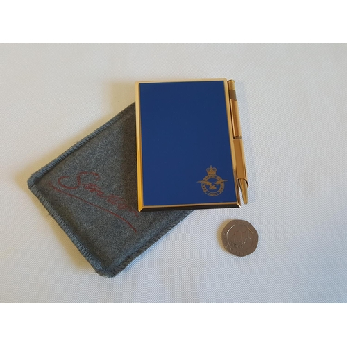 4 - Stratton notebook with RAF badge