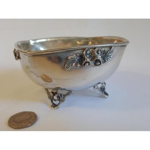 46 - HM silver 830 Cyprus heavy dish