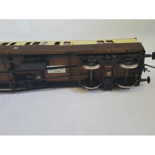 17 - kit built o gauge RJH GWR coach kit GWC 007