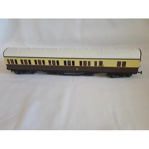 18 - kit built o gauge RJH GWR coach kit GWC 007