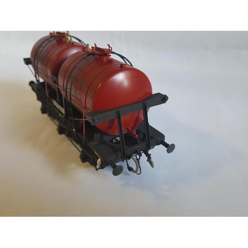 19 - kit built o gauge Slaters GWR twin tank milk wagon