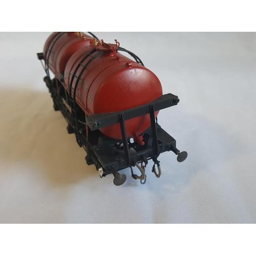 20 - kit built o gauge Slaters GWR twin tank milk wagon