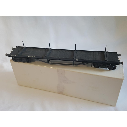 35 - kit built o gauge Haywood J28 goods stock