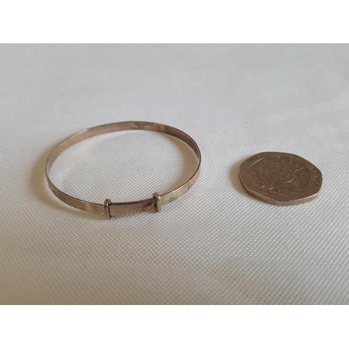 400 - 925 silver small bangle