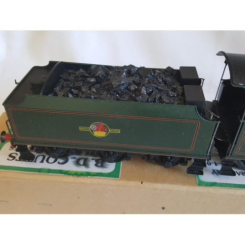61 - kit built o gauge DJB SR School Class 4-4-0 locomotive