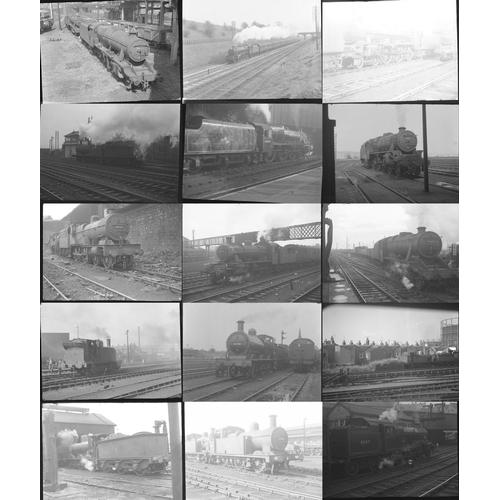 1 - Railway black & white negatives, medium format & 35mm, quantity 50. A good mix of original negatives...